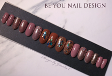 Wedding Fake Nail Design by Be-You Nail Design