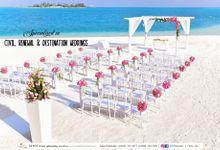 Beach Wedding by ALTUZ events