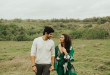 Beach Stroll & Hotel Room Session on Rashi & Prateek by fire, wood & earth