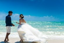 How about an escape to where the sun and beach are picture perfect by The Wedding & Co