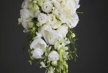 bridal bouquet styling by Beato