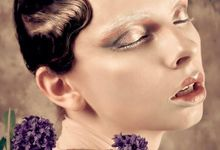 Glam Makeup for Fashion Magazine by Lili Makeup Specialist