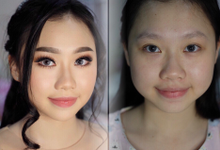 As sweet as the seventeen year old.  by Rachel Liem Makeup