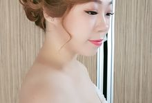 Pamela actual wedding day by elitemakeupartistsinc
