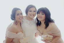 Make up for bridesmaid by Beautybrushed_byCal