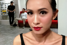 Make up Fashion Show Cok Abi by Beautybrushed_byCal