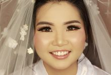 The Bride : Tiwi by Vivian Taslim's Make - up