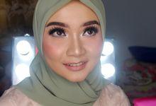WIDHI WEDDING by Rugayah Samiah Makeup