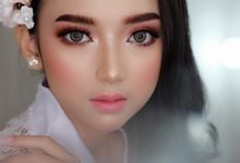 Bridal look makeup by Natcha Makeup Studio