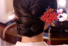 Chinese wedding by Lie Yenti MUA