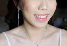 Ms. Fiona Leong from Singapore by Junie Fang Makeup Artist