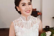 Handoko & Stella Wedding ceremony 25/10/19 by Lie Yenti MUA