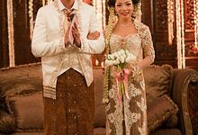 Wedding ollie & Icha by Windy Savosa Couture