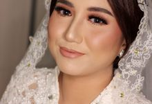 FIKA & PUTERA WEDDING by Rugayah Samiah Makeup