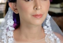 Bridal Makeup - Mrs. Flame Rozario by Junie Fang Makeup Artist