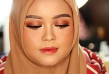 DITRI WEDDING (Before - After) by Rugayah Samiah Makeup