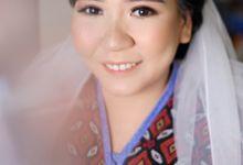 bride makeup for ms krisma by Novysarilim Makeup