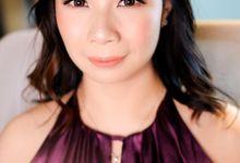 bridesmaid makeup by Novysarilim Makeup