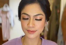 Hair & Makeup Bridesmaid by nofimua