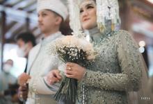 The wedding of Icha & Joe by Beblooms Wedding