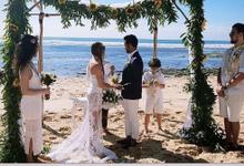 Gustavo & Angel Wedding  by Bali Becik Wedding