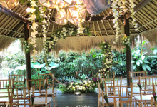 Virgilia & Gokul Wedding by Becik Florist