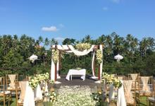 Wedding Ceremony at Kamandalu Ubud by Bali Becik Wedding