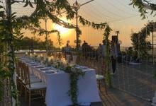 Intimate Wedding Reception at Renaissance Uluwatu  by Bali Becik Wedding