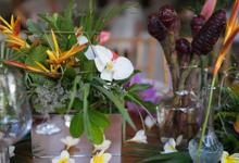Jenna Belle & Marten Wedding  by Becik Florist