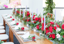 Private Dinner at Ring of Fire, Samabe-Bali by Becik Florist