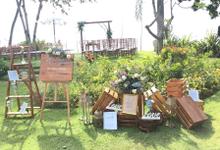 Wedding Ceremony & Dinner at The Patra, Bali by Becik Florist