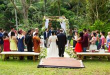 Venue for Intimate Wedding by Villa Beji Indah Ubud Bali