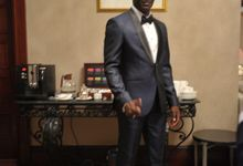 Suit Design for Emile Heskey by Wong Hang Distinguished Tailor