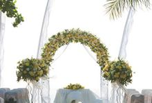 Arch Flower by Bali Vintage Florist
