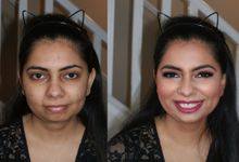 Before and After by Cinthia Torres Makeup Artistry