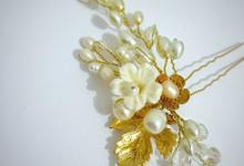 Gold Sakura Hairpin for Ms.Disa by Belle La_vie