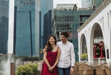 Singapore Engagement Session of Belle & Kelvin by Trivio Pictures