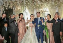 Wedding & Dinner reception of  Belly & Dewi by The Royal Santrian Luxury Beach Villa