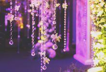 Elegant Purple Wedding by Chere Weddings & Parties