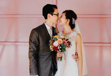 A colourful and vibrant wedding by Huahee