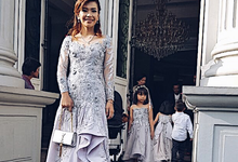Family dresses for Mrs. winagustly by Benita Octaviana