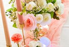 Table Decoration  by Benoite Florist