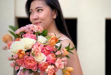 The Wedding of Romi & Lina by Benoite Florist