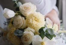 The Wedding of Feliana & Edward by Benoite Florist