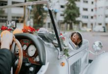 Modern Oriental Wedding of Ben and Wei Qi by Arches & Co.
