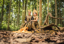 Prewedding at Sangeh - Bali by Bali Epic Productions