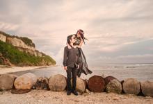 Prewedding at Melasti Beach Bali by Bali Epic Productions