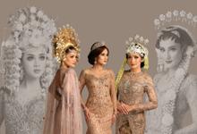 Sewa / Renr Kebaya Wedding 2019 by Berkat Kebaya By Devina Shanti
