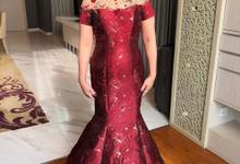 Teapai Dress for Mrs. Lili by Berta Chandra Couture