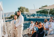 Santorini Destination Weddings by Shelby Ellis Photography
